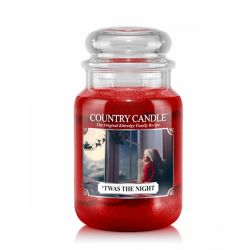 Candele profumate Country Candle color rosso  'Twas The Night Large Jar online - Prezzo:   29.90 €