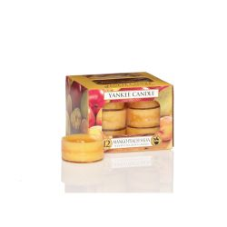 Candele profumate Yankee Candle color giallo  Mango Peach Salsa Tea-Light online - Prezzo:   9.95 €