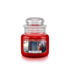 Candele profumate Country Candle color rosso  'Twas The Night Small Jar online - Prezzo:   11.90 €