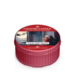 Candele profumate Country Candle color rosso  'Twas The Night Daylight online - Prezzo:   3.65 €