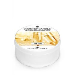 Candele profumate Country Candle color bianco  Cheers Daylight online - Prezzo:   3.65 €