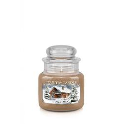 Candele profumate Country Candle color beige  Cozy Cabin Small Jar online - Prezzo:   11.90 €