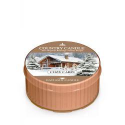 Candele profumate Country Candle color beige  Cozy Cabin Daylight online - Prezzo:   3.65 €