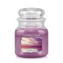 Candele profumate Country Candle color viola  Daydreams Medium Jar online - Prezzo:   24.90 €