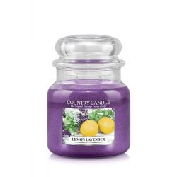 Candele profumate Country Candle color viola  Lemon Lavender Medium Jar online - Prezzo:   24.90 €