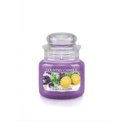 Candele profumate Country Candle color viola  Lemon Lavender Small Jar online - Prezzo:   11.90 €