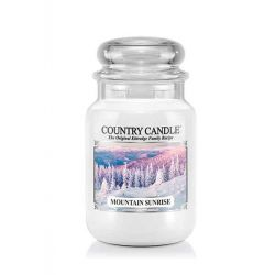 Candele profumate Country Candle color bianco  Mountain Sunrise Large Jar online - Prezzo:   29.90 €