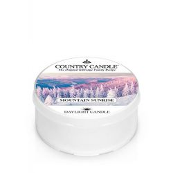 Candele profumate Country Candle color bianco  Mountain Sunrise Daylight online - Prezzo:   3.65 €