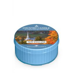Candele profumate Country Candle color blu  New England Daylight online - Prezzo:   3.65 €