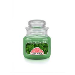 Candele profumate Country Candle color verde  Pine & Pomelo Small Jar online - Prezzo:   11.90 €