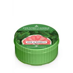 Candele profumate Country Candle color verde  Pine & Pomelo Daylight online - Prezzo:   1.82 €