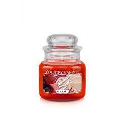 Candele profumate Country Candle color rosso  Flannel Small Jar online - Prezzo:   11.90 €