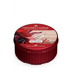 Candele profumate Country Candle color rosso  Flannel Daylight online - Prezzo:   3.65 €