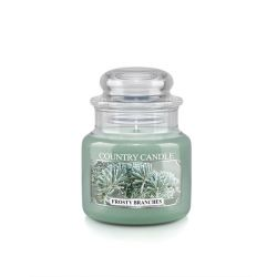 Candele profumate Country Candle color verde  Frosty Branches Small Jar online - Prezzo:   11.90 €