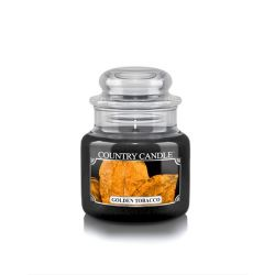 Candele profumate Country Candle color nero  Golden Tobacco Small Jar online - Prezzo:   11.90 €