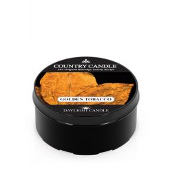 Candele profumate Country Candle color nero  Golden Tobacco Daylight online - Prezzo:   3.65 €