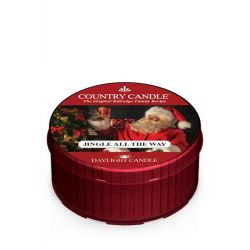 Candele profumate Country Candle color rosso  Jingle All The Way Daylight online - Prezzo:   3.65 €