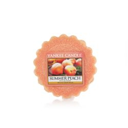 Candele profumate Yankee Candle color arancione  Summer Peach Tarts Wax Melts online - Prezzo:   1.12 €