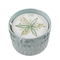 Candele Profumate Yankee Candle color azzurro  Fresh Forest Medium Jar online - Prezzo:   22.90 €
