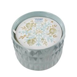 Candele Profumate Yankee Candle color azzurro  Snowy Night Medium Jar online - Prezzo:   22.90 €