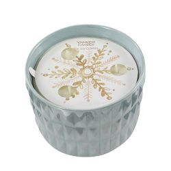 Candele Profumate Yankee Candle color azzurro  Holiday Glimmer Medium Jar online - Prezzo:   22.90 €