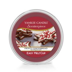 Diffusori Yankee Candle color rosso  Frosty Gingerbread Scenterpiece MeltCup online - Prezzo:   5.99 €