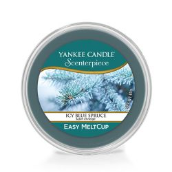Diffusori Yankee Candle color blu  Icy Blue Spruce Scenterpiece MeltCup online - Prezzo:   5.99 €