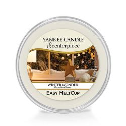 Diffusori Yankee Candle color bianco  Winter Wonder Scenterpiece MeltCup online - Prezzo:   5.99 €