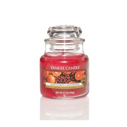 Candele profumate Yankee Candle color rosso  Mandarin Cranberry Small Jar online - Prezzo:   11.90 €