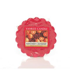 Candele profumate Yankee Candle color rosso  Mandarin Cranberry Wax Melt online - Prezzo:   2.25 €