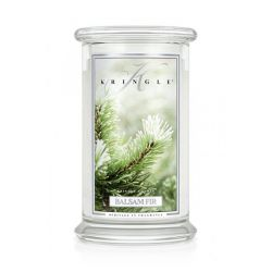 Candele profumate Kringle Candle color bianco  Balsam Fir Large Jar online - Prezzo:   24.75 €