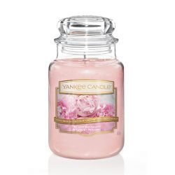 Candele profumate Yankee Candle color rosa  Blush Bouquet Large Jar online - Prezzo:   29.90 €