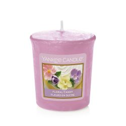 Candele profumate Yankee Candle color rosa  Floral Candy Votive Candle online - Prezzo:   2.65 €