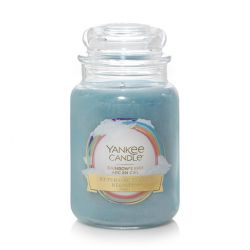 Candele profumate Yankee Candle color azzurro  Rainbow's End Large Jar online - Prezzo:   29.90 €