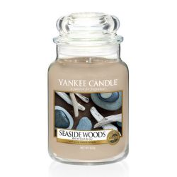 Candele profumate Yankee Candle color beige  Seaside Woods Large Jar online - Prezzo:   29.90 €