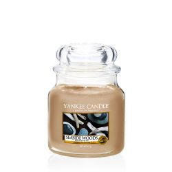 Candele profumate Yankee Candle color beige  Seaside Woods Medium Jar online - Prezzo:   24.90 €