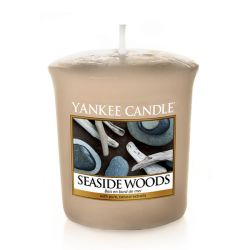 Candele profumate Yankee Candle color beige  Seaside Woods Votive Candle online - Prezzo:   2.65 €
