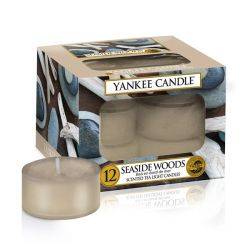 Candele profumate Yankee Candle color beige  Seaside Woods Tea-Light online - Prezzo:   9.95 €
