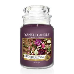 Giare grandi Yankee Candle  color viola  Moonlit Blossoms Large Jar online - Prezzo:   29.90 €