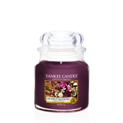 Yankee Candle  color viola  Moonlit Blossoms Medium Jar online - Prezzo:   24.90 €
