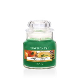 Yankee Candle  color verde  Alfresco Afternoon Small Jar online - Prezzo:   11.90 €