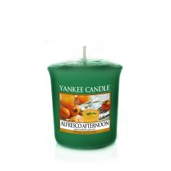 Yankee Candle  color verde  Alfresco Afternoon Votive Candle online - Prezzo:   2.65 €