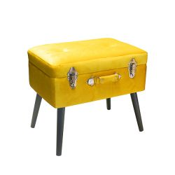 Living Pusher color giallo  Bauletto Pouff PUSHER online - Prezzo:   55.00 €
