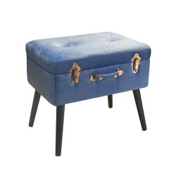 Living Pusher color azzurro  Bauletto Pouff PUSHER online - Prezzo:   55.00 €
