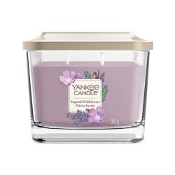 Yankee Candle  color lilla  Sugared Wildflowers Medium Jar online - Prezzo:   24.90 €