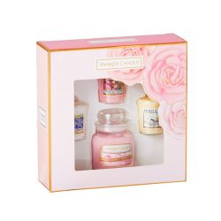 Candele profumate Yankee Candle color rosa  Gift Set Small Jar & Votive online - Prezzo:   17.90 €