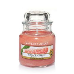 Candele profumate Yankee Candle color arancione  Pink Grapefruit Small Jar online - Prezzo:   5.95 €