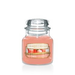 Candele profumate Yankee Candle color arancione  White Strawberry Bellini Small Jar online - Prezzo:   11.90 €