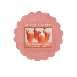 Yankee Candle  color arancione  White Strawberry Bellini Wax Melt online - Prezzo:   2.25 €