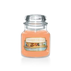 Yankee Candle  color arancione  Grilled Peaches & Vanilla Small Jar online - Prezzo:   11.90 €